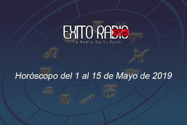 horoscopo 1 al 15 mayo 2019