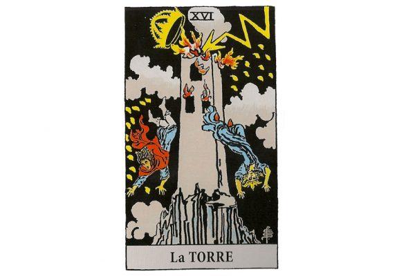 carta tarot la torre