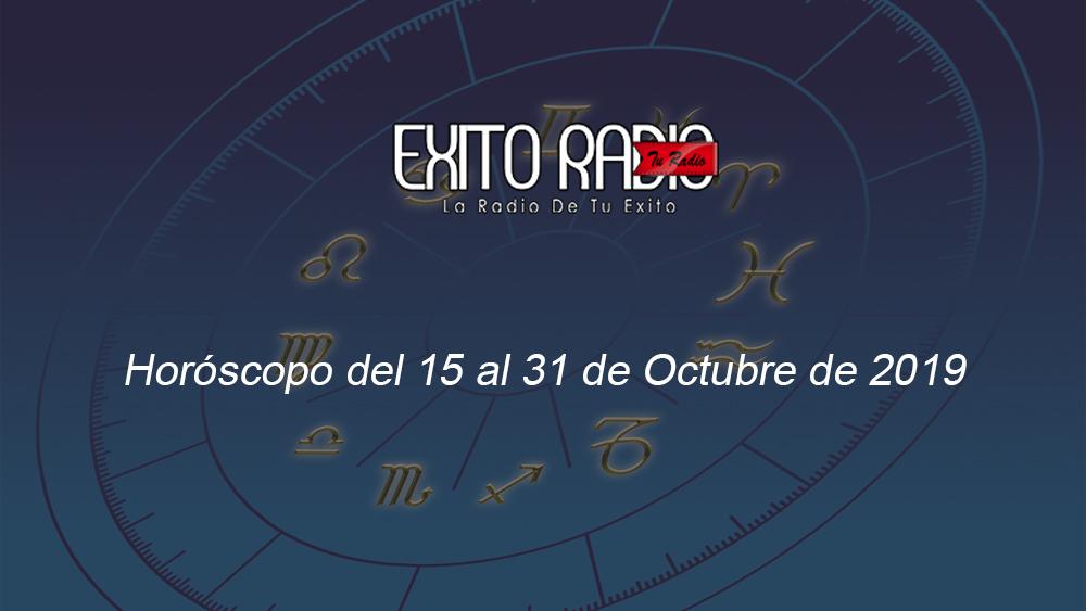 horoscopo 15 31 octubre 2019