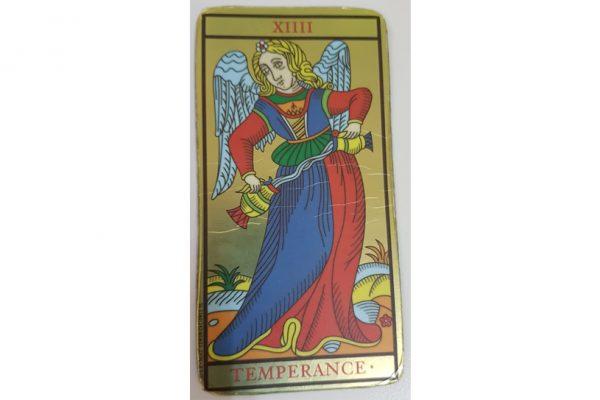 carta tarot templanza